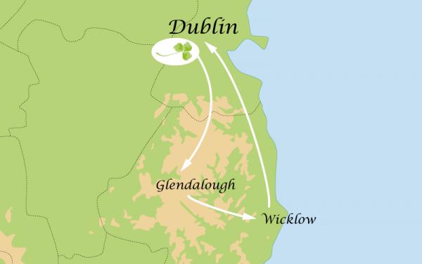 Circuit 3 Jours : Ville de Dublin et environs