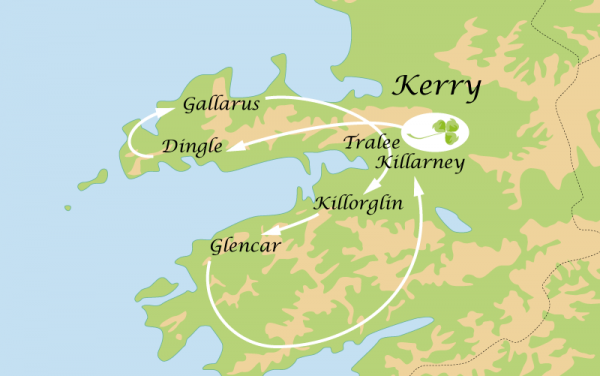 Circuit 4 Jours : Le Kerry et Dingle