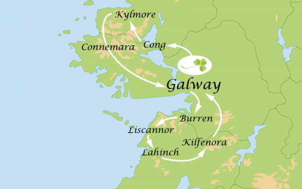 4 Day Tour – Galway and Connemara