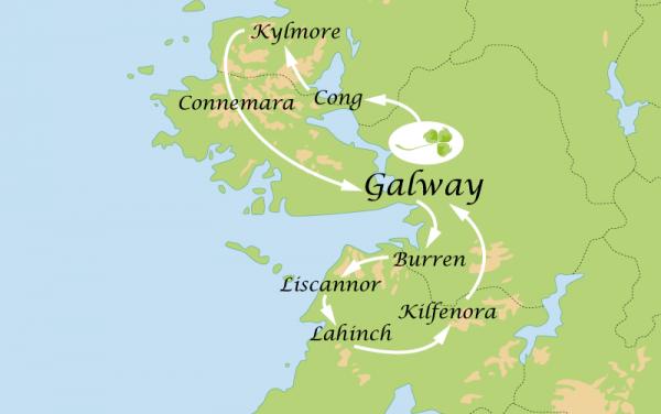 Circuit 4 Jours : La ville de Galway et le Connemara