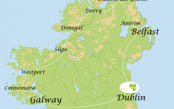 8 Day Tour – North of the island of Ireland